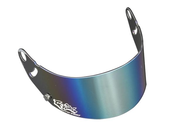 GAZE ゲイズ ミラーバイザー (シルバー) アライヘルメット GP-6 SK-6 シリーズ カート 4輪 走行会【店頭受取対応商品】