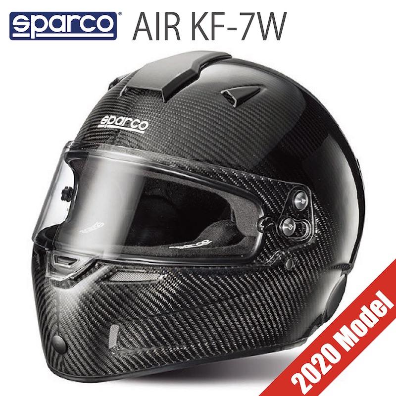 送料無料 Sparco AIR KF-7W スパルコ エア ヘルメット レーシングカート【店頭受取対応商品】