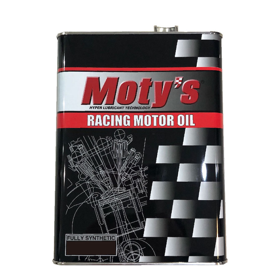 FULLY SYNTHETIC OIL 誕生日プレゼント Moty's M114 10W40 4L 店頭受取対応商品 4輪用エンジンオイル 化学合成油 内祝い モティーズ