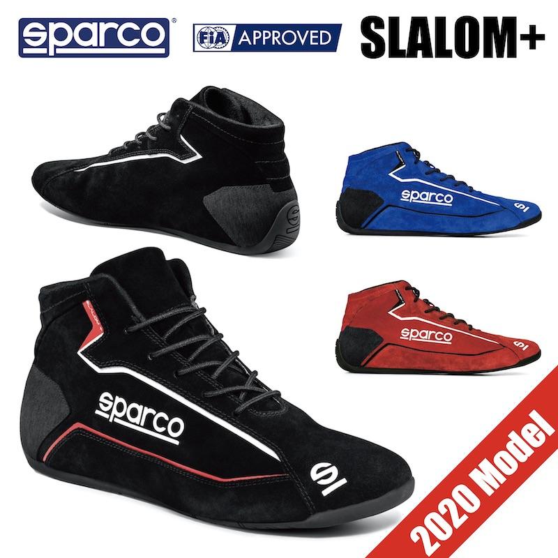 Sparco レーシングシューズ SLALOM+ FIA公認 スパルコ スラロームプラス 4輪 走行会【店頭受取対応商品】