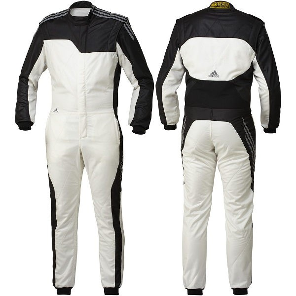 FIA official recognition for four adidas Adidas racing suit RSR ClimaCool  Race Suits kart racing run society