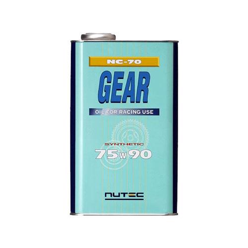 高性能ギアオイル 最安値に挑戦 NUTEC ニューテック100%化学合成ギアオイル 75W902L缶 高級 NC-70 API:GL5