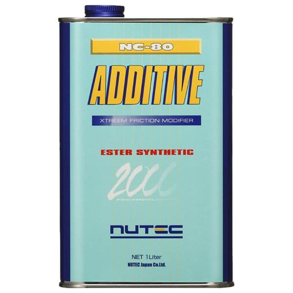 NUTEC ニューテック100%化学合成エンジンオイル添加剤1L缶 【NC-80】