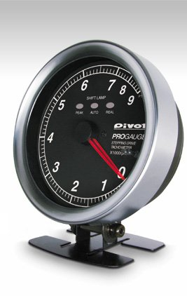 Pivot ピボット PROGAUGE タコメーター φ80 白 PTX-W