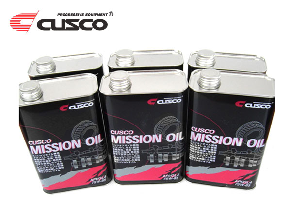 CUSCO クスコ ミッションオイル 75W-85 FF 4年保証 フロント 1L缶×6本 MR 4WD 1ケース 買物