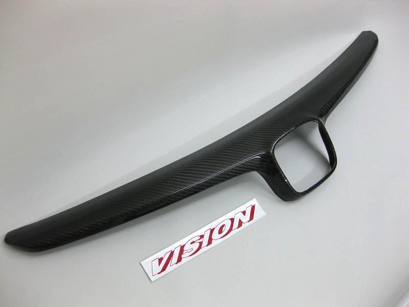 VISION フロントカーボングリル シビックタイプR [FD2] シビック [FD1/FD3 前期型] (※IHCC装備車、取り付け不可) ※北海道・沖縄は1500円(税別) 離島は要確認