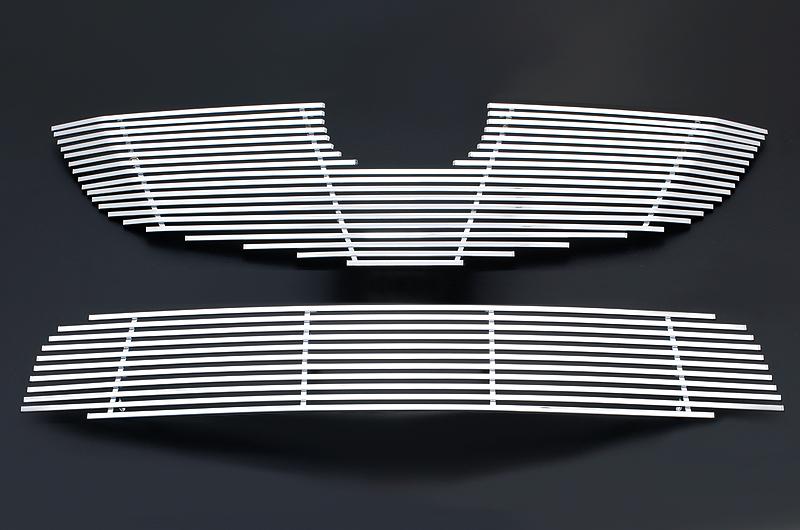 マツダ CX-5用 アルミメッキグリルセット (フロントメイングリル&アンダーグリル)