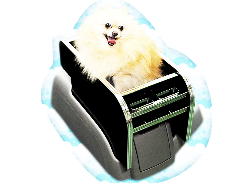 ハイエース200系 ≪センターコンソール ペット用ベッドKIT≫ センターコンソール単品 ※カップホルダーは付属しません