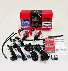 CATZキャズ 27W HIDフォグセット HB3/HB4共用 アズーリホワイト 6700K