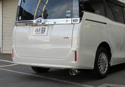 [柿本改] マフラー GTbox06&S ヴォクシー ハイブリッドV/X 2WD [DAA-ZWR80G] 2ZR-FXE(5JM) (14/2~) 個人宅配送不可 北海道・沖縄・離島は要確認