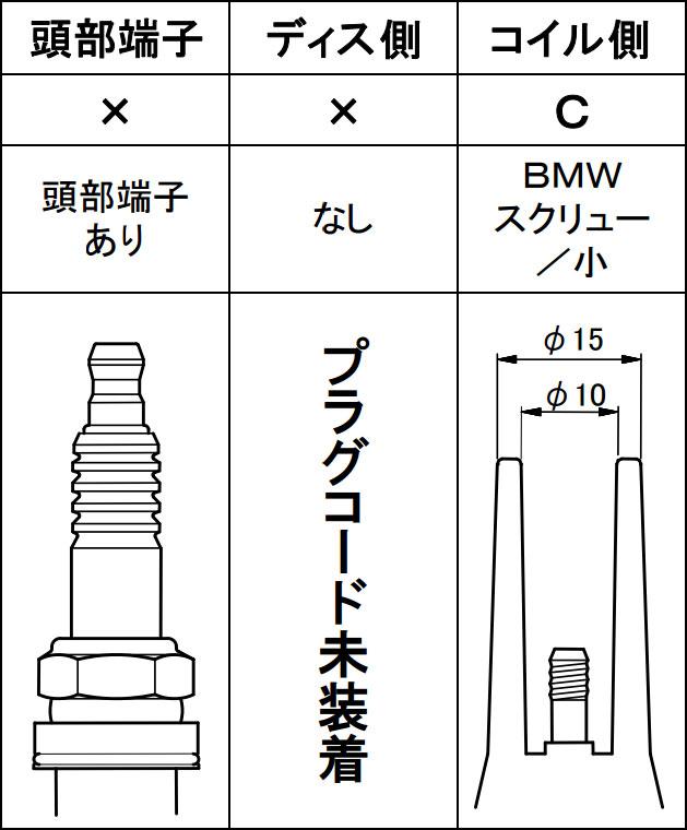 [永井電子]ウルトラシリコンパワープラグコードグレーフォードエスケープTA-EPEWFYF2.000~03