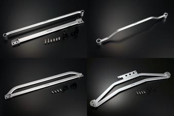 [Genb] 玄武 フレームサポートセット(1台分) ハイエース TRH200系/KDH200系(2WD標準ボディ) ムーンフェイス