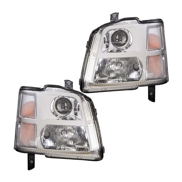 [COLIN] コーリン ワゴンR MC11S/MC12S/MC21S/MC22S 4灯ヘッドライト メッキ 旧品番 SU1-802 ※代引不可