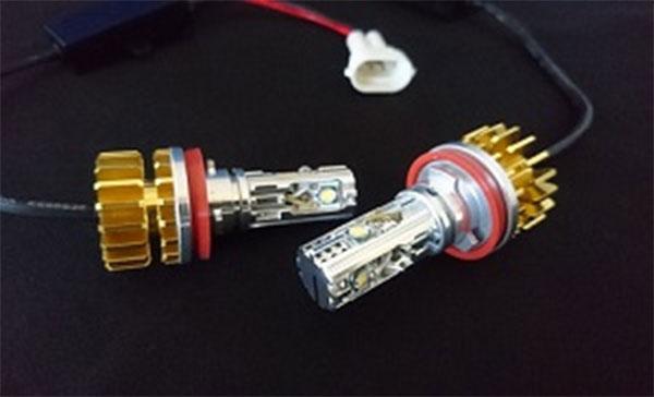 [ORSタニグチ] LEDフォグバルブ「EX-Ray」 H8/H11 イエロー 2400k 2本セット ジムニー JB23W 5型~10型 代引不可 ※沖縄・離島は要確認