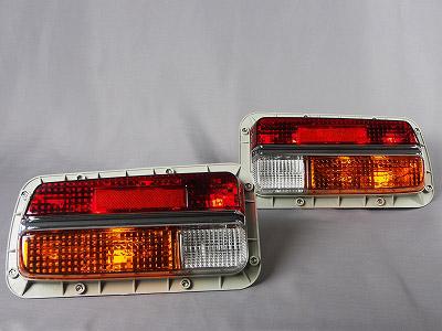 【即納】S30Z 240Z フェアレディZ ワンテール レプリカ テールライト 左右セット(ハーネス・ガスケット付き)