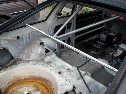 [カワイ製作所] リアピラーバー 【 サニー [B310] 3ドア車 】 ※Cピラー取付け穴用確認、トリム加工必要