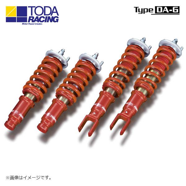 戸田レーシング ファイテックスダンパーKIT ダンパー+スプリング+ピロアッパー(1台分) Type DA-G シビック EK4 EK9 TYPE R 北海道・沖縄・離島は要確認