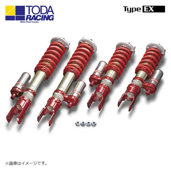 戸田レーシング ファイテックスダンパーKIT ダンパー+スプリング+ピロアッパー(1台分) Type EX S2000 AP1 AP2 北海道・沖縄・離島は要確認