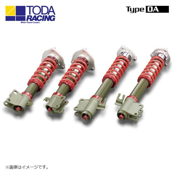 戸田レーシング ファイテックスダンパーKIT ダンパー+スプリング+ピロアッパー(1台分) Type DA インプレッサ GDB A~B 北海道・沖縄・離島は要確認