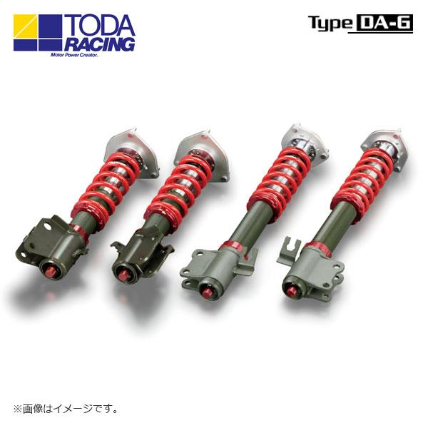 戸田レーシング ファイテックスダンパーKIT ダンパー+スプリング+ピロアッパー(1台分) Type DA-G インプレッサ GDB E~F 北海道・沖縄・離島は要確認