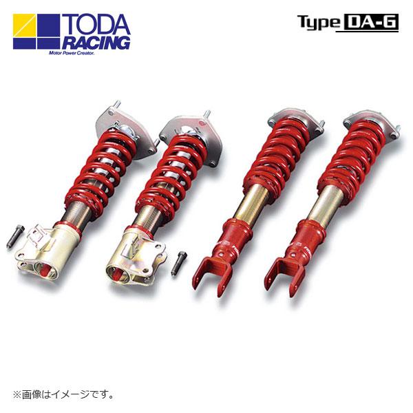 戸田レーシング ファイテックスダンパーKIT ダンパー+スプリング+ピロアッパー(1台分) Type DA-G ランサー CP9A 北海道・沖縄・離島は要確認