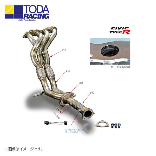 戸田レーシング エキゾーストマニフォールド(4-2-1 TYPE R K20A SUS) シビック 北海道・沖縄・離島は要確認 FD2