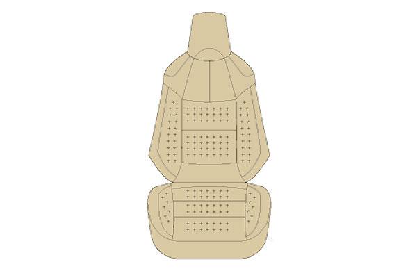 Auto wear オートウェア シートカバー RAV4 50系 専用デザイン ニューベージュ RAV4 MXAA52 MXAA54 2019年04月~ 5人 G