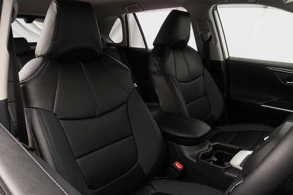 Auto wear オートウェア シートカバー RAV4 50系 専用デザイン ブラック RAV4 MXAA54 2019年04月~ 5人 Adventure
