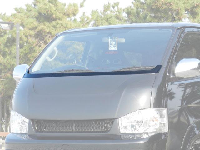 [415 COBRA] 【ナロー】 SPORTY LINE ワイパーカウル 4型 ハイエース 200系 標準ボディ 個人宅不可 大型荷物につき特別運賃