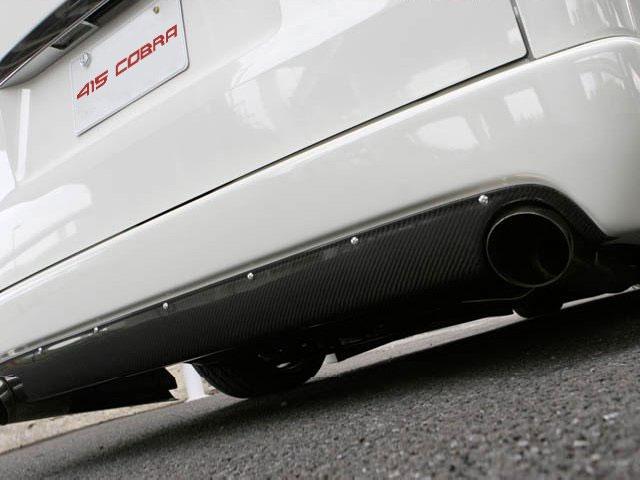 [415 COBRA] 【ナロー】 STAGE1 カーボンリアバランサー (シングル出し) ハイエース 200系 標準ボディ 個人宅不可 大型荷物につき特別運賃