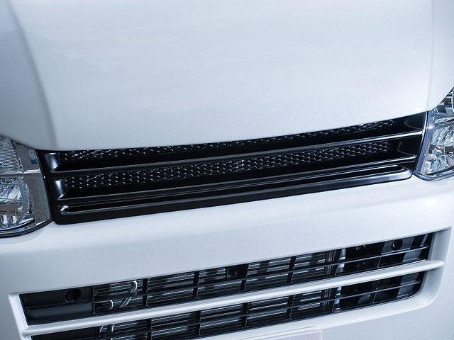 [415 COBRA] 【ワイド】 415 STUDIO DESIGN フロントグリル ネット付 3型 ハイエース 200系 ワイドボディ 個人宅不可 大型荷物につき特別運賃