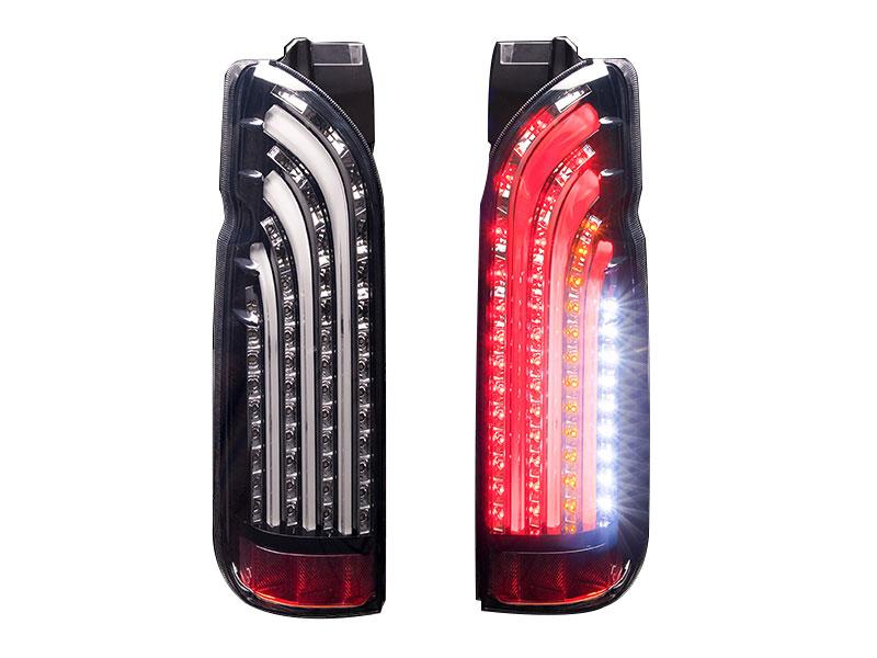 415 COBRA ライトセーバー BS-WHITE LEDテールランプ 1~5型 ハイエース 200系
