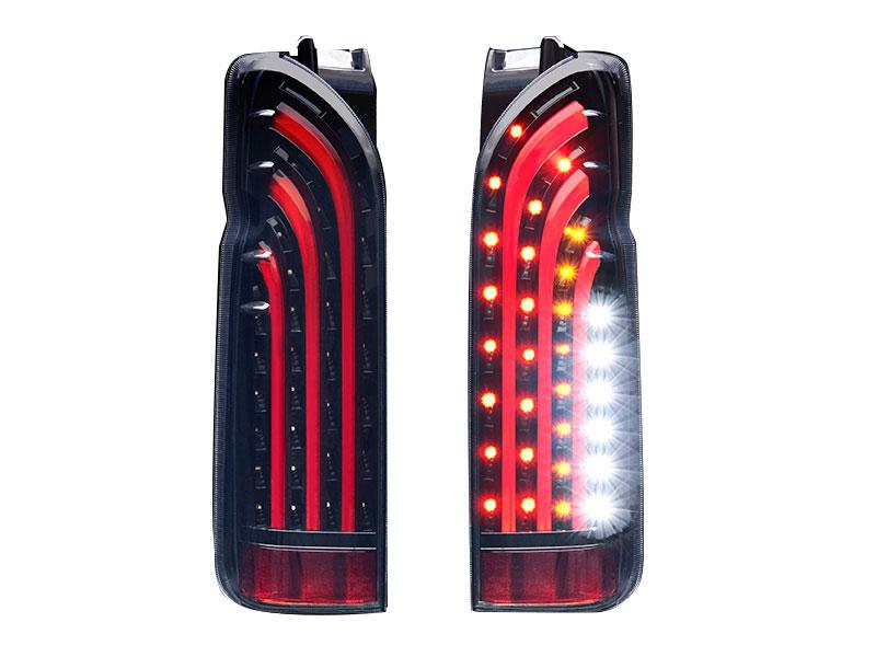 415 COBRA BADテール BAD-RED LEDテールランプ 1~5型 ハイエース 200系