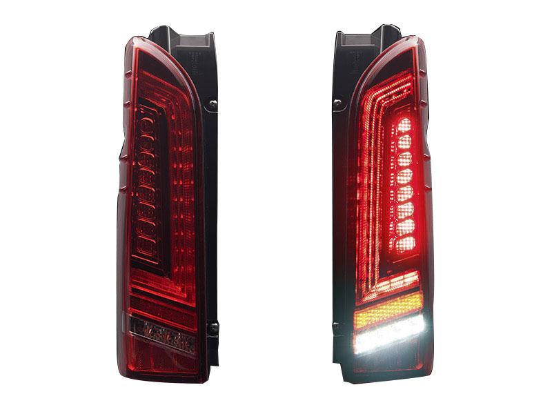 415 COBRA ライトセーバープレステージ レッド LEDテールランプ 1~5型 ハイエース 200系