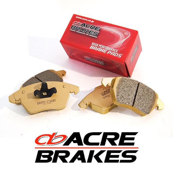 ACRE アクレ ブレーキパッド ユーロストリート フロント用 フォルクスワーゲン トゥアレグ 3.0 ハイブリッド/3.6 V6 7PCGEA/7PCGRS 11.2~ PRIMARY EQUIPMENT No.1LG