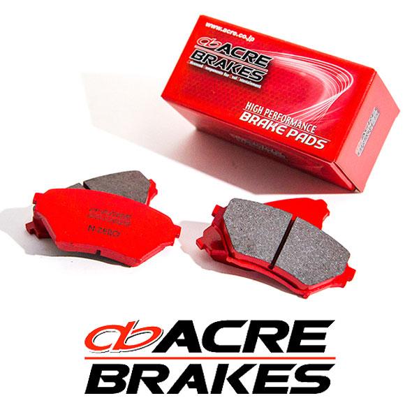 ACRE アクレ ブレーキパッド エヌゼロ フロント用 アウトバック BRM 12/5~14/10 2500cc 標準17インチ車、2.5i S-Package除く