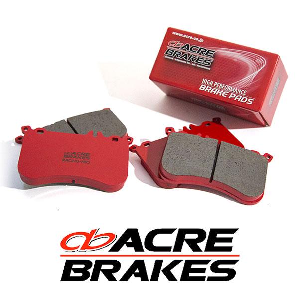 ACRE アクレ ブレーキパッド レーシングプロ リア用 WRX STI VAB 17.11~ 2000cc brembo製キャリパー装着車 Fr/6pot Rr/2pot S208