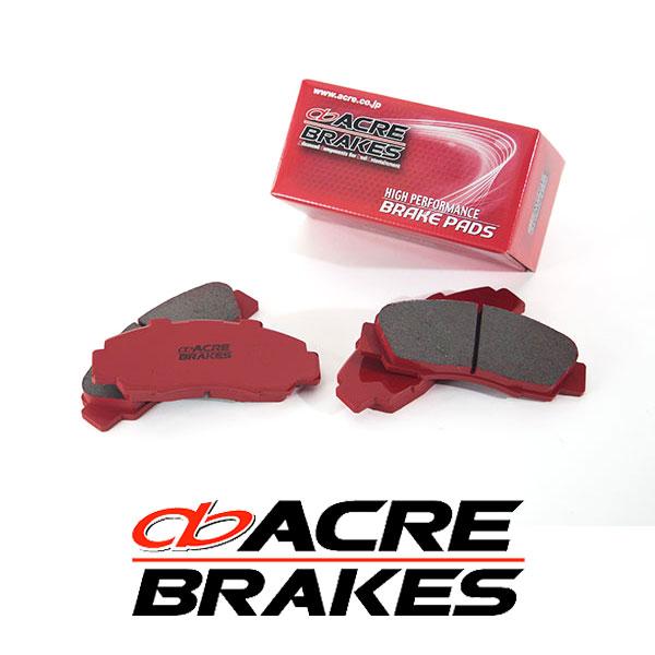 ACRE アクレ ブレーキパッド リアルレーシング リア用 アウトバック BRM 12/5~14/10 2500cc 標準17インチ車、2.5i S-Package除く