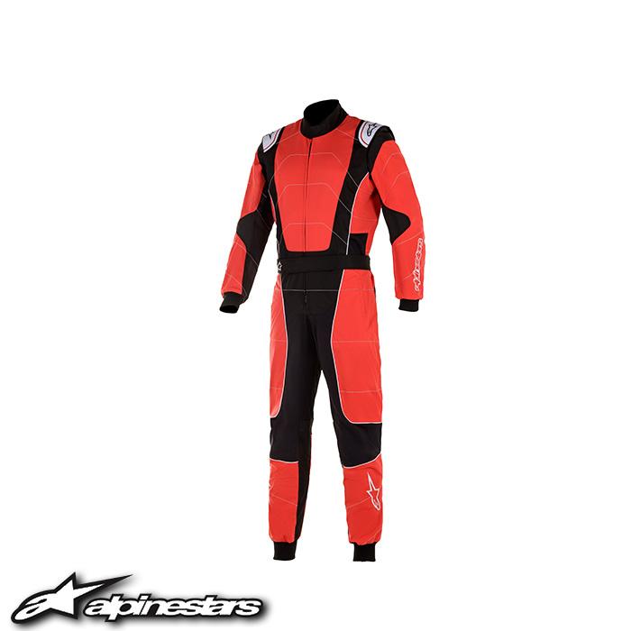アルパインスターズ KMX-3 v2 Sスーツ (31 RED BLACK) 子供用カートスーツ 2020年モデル