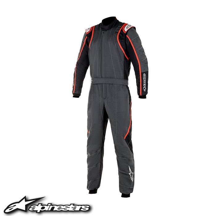アルパインスターズ GP RACE v2 SUIT (1431 ANTHRACITE BLACK RED) 2020年モデル GPレースv2スーツ