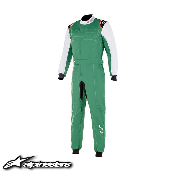 アルパインスターズ KMX-9 v2 カートスーツ (623 GREEN WHITE RED) KMX-9 v2 カートレーシングスーツ 2020年追加カラー