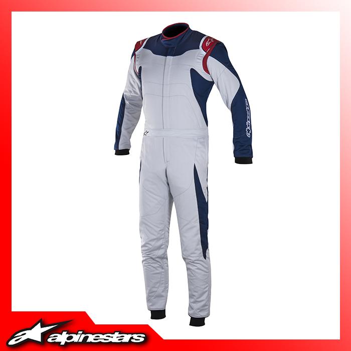 [アルパインスターズ] GPレーススーツ (197 Silver Blue) GP RACE SUIT
