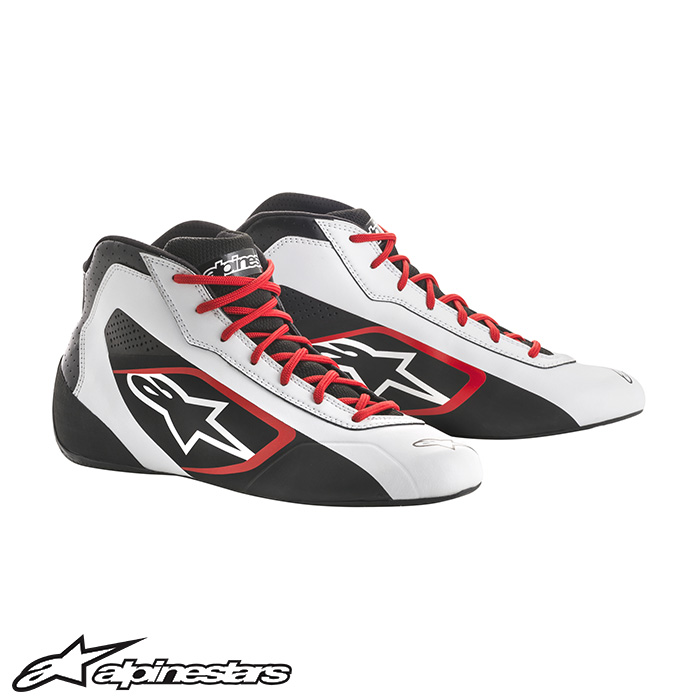 [アルパインスターズ] TECH1-K START シューズ (213 WHITE BLACK RED) TECH1-K START SHOES