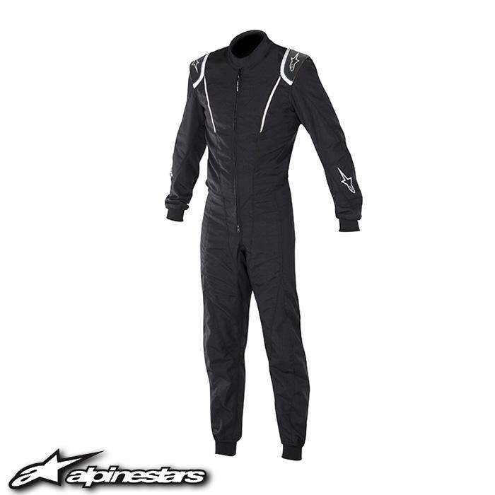 [アルパインスターズ] スーパーKMX-1スーツ (12 BLACK WHITE) SUPER KMX-1