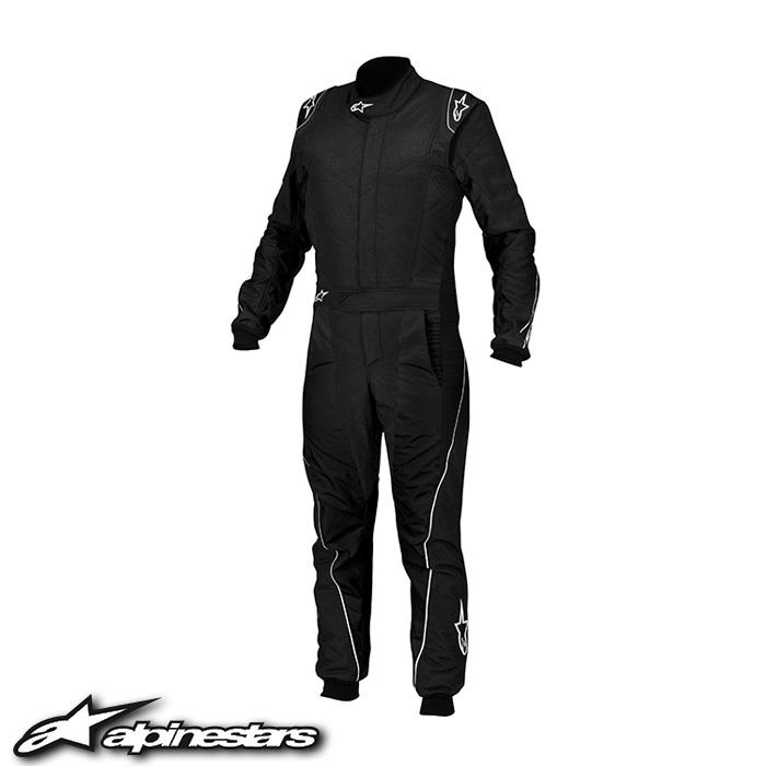 [アルパインスターズ] GPプロスーツ (12 Black White) 56サイズ ※旧モデル GP PRO SUIT ※在庫限りで販売終了。お問合せください。