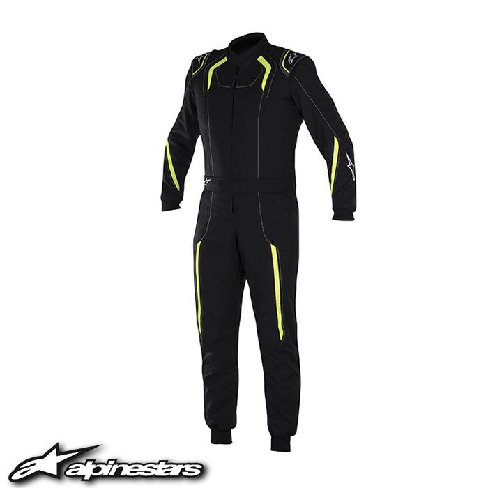 [アルパインスターズ] K-MX5スーツ (155 BLACK YELLOW FLUO) K-MX5