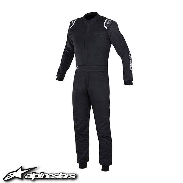 [アルパインスターズ] GPレーススーツ (10 BLACK) GP RACE SUIT