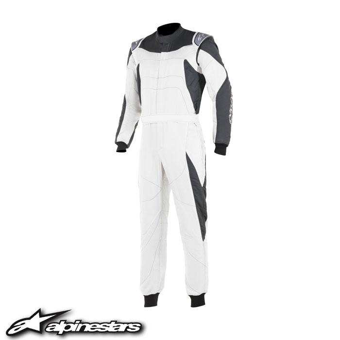 [アルパインスターズ] GPレーススーツ (204 WHITE ANTHRACITE) GP RACE SUIT