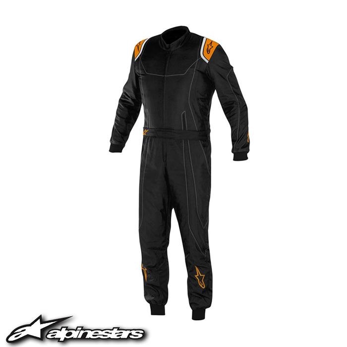 [アルパインスターズ] K-MX9スーツ (156 BLACK ORANGE FLUO) K-MX9