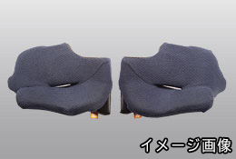 Arai アライヘルメット GP-6RC 購入 GP-6 WEB限定 GP-6S SK-6PED共通パーツ システムパッド 25mm XS